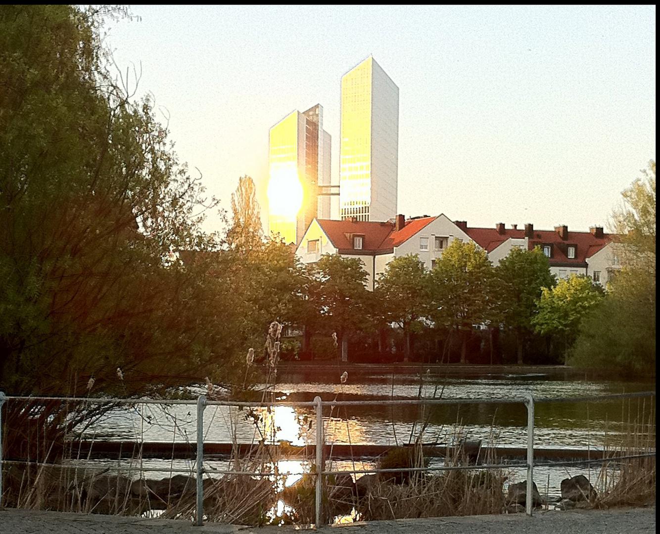 Schwabinger See in München