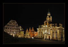 Schwäbisch Hall at night II