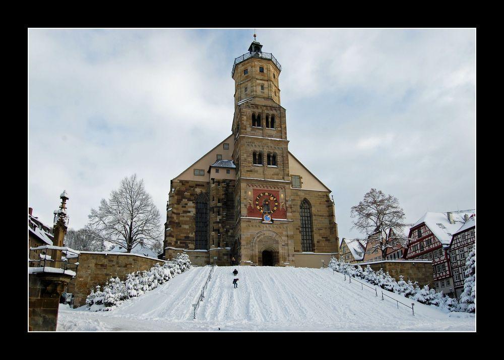 Schwäbisch Hall - ein Wintermärchen