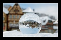 Schwäbisch Hall - ein Wintermärchen - gekugelt - Nr. 1