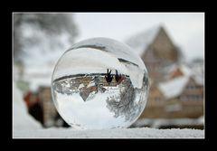 Schwäbisch Hall - ein Wintermärchen - gekugelt - Nr. 3