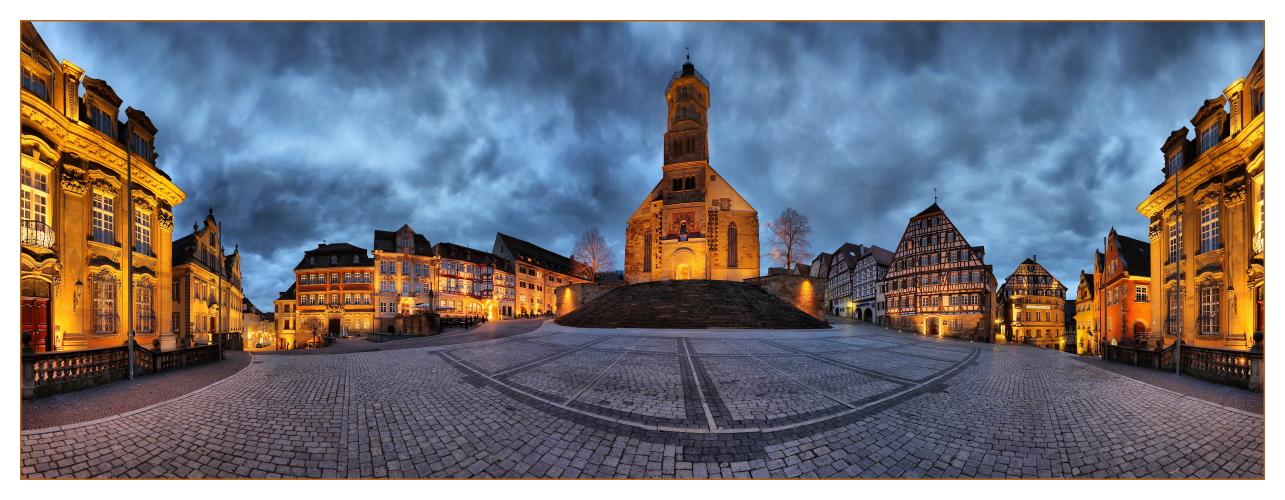 schwaebisch hall marktplatz foto bild architektur