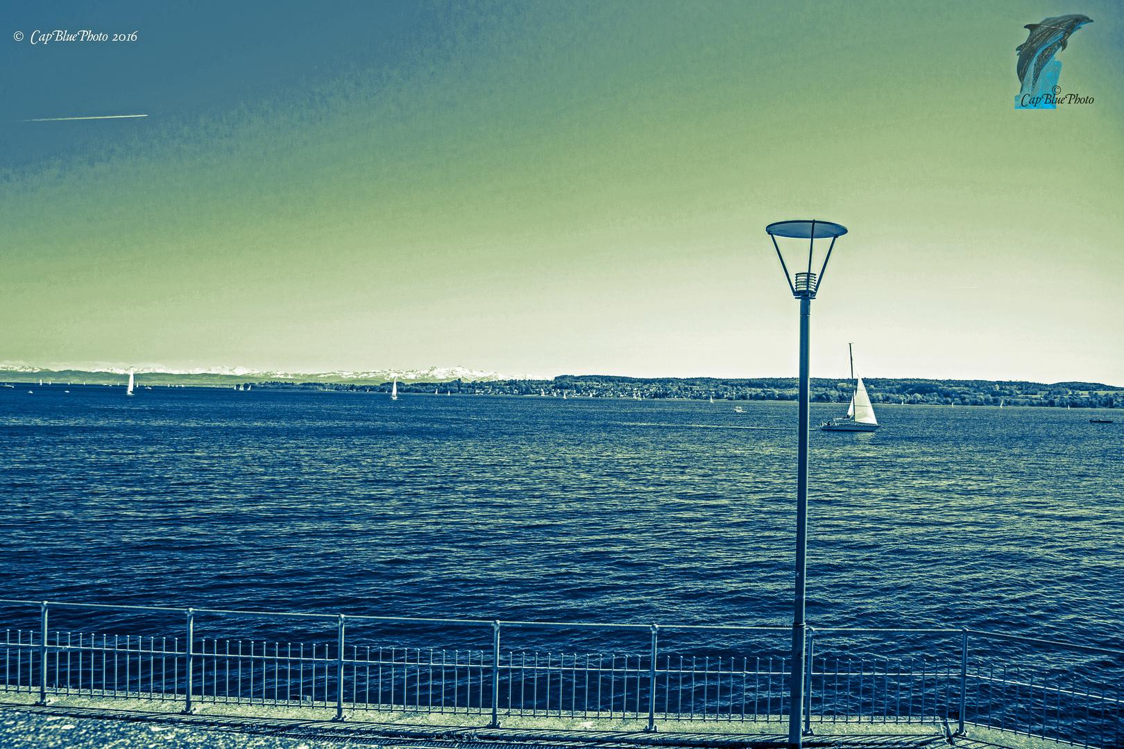 Schwäbisches Meer am Überlinger Ufer