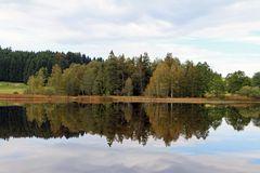 Schwaigsee, bei Wildsteig, Pfaffenwinkel, Allgäu