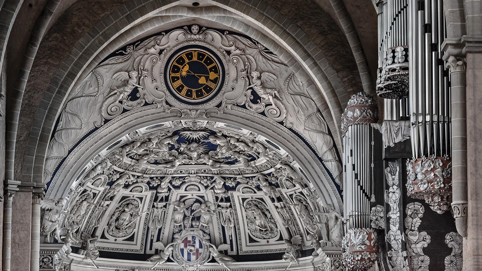 SCHWALBENNEST-ORGEL, Hohe Domkirche St. Peter zu Trier (2)