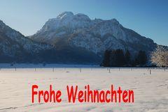 Schwangau Neuschwanstein vor Säuling