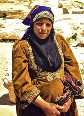 Schwangerschaft.        ..Palmyra, Syrian. ..120_4354