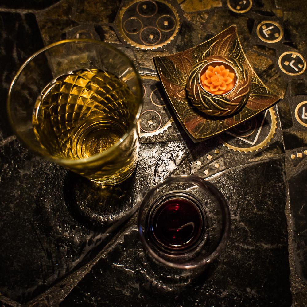 schwarz-rot-goldener-Abend