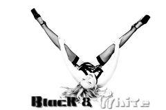 schwarz und weiß...