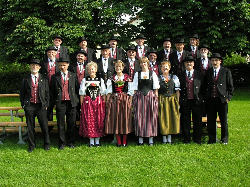 Schwarzbuebe-Jodler aus Dornach