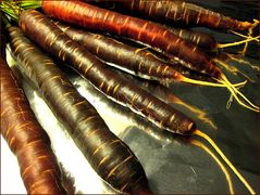 Schwarze Karotten