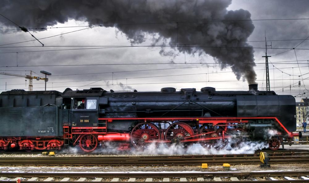 Schwarze Schönheit - Baureihe 01