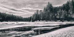 Schwarzenbach-Talsperre: Das-Eis-bricht
