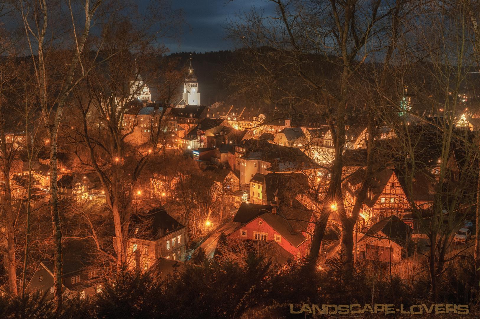 Weihnachtsmarkt Schwarzenberg.Schwarzenberg Weihnachtszeit Foto Bild Weihnachten Nacht