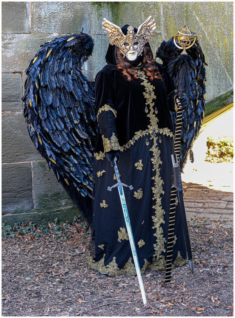 Schwarzer Engel !