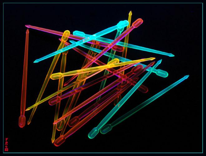 Schwarzlicht 3D Wirkung