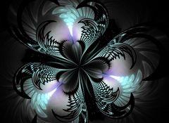 Schwarzlichtblüte II