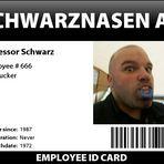 Schwarznasenausweisfoto