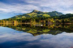 Schwarzsee und 2x Kitzbüheler Horn im Herbst