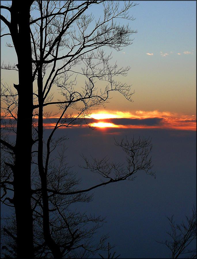Schwarzwald sunset