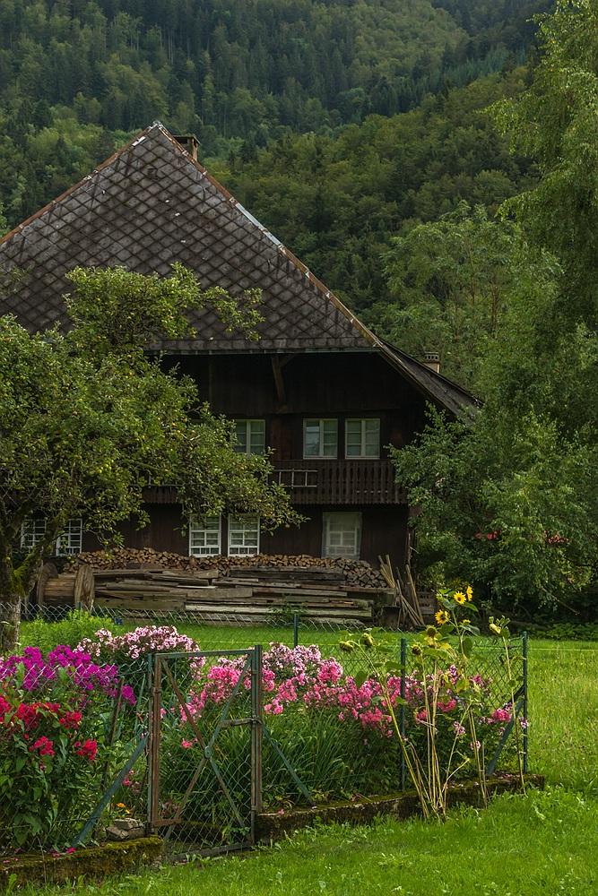 Schwarzwaldhof mit Garten