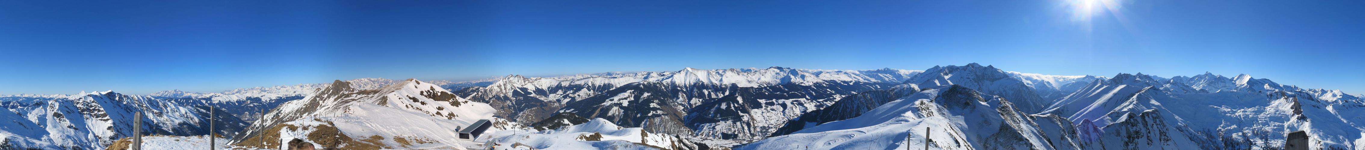 Schwarzwand Rauris Gipfelpanorama