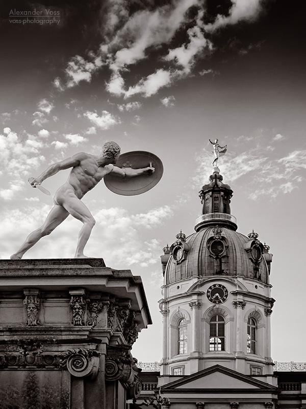 Schwarzweiss-Fotografie: Berlin - Schloss Charlottenburg
