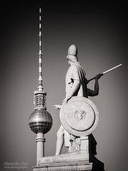 Schwarzweiss-Fotografie: Berliner Fernsehturm