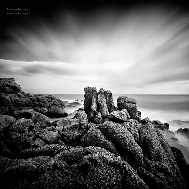 Schwarzweiss-Fotografie: Costa del Sud (Sardinien)