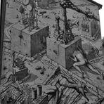 Schwarzweißer Freitag 30.04.2021 das etwas andere Graffiti