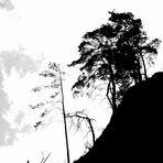 Schwarzweißer Freitag  - der schwarze Berg