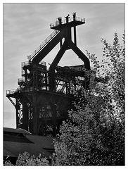 Schwarzweißer Freitag- Industriefotografie