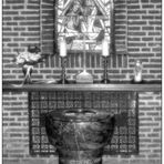 Schwarzweißer Freitag- Kapelle