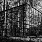schwarzweisser Freitag: Spiegelhaus