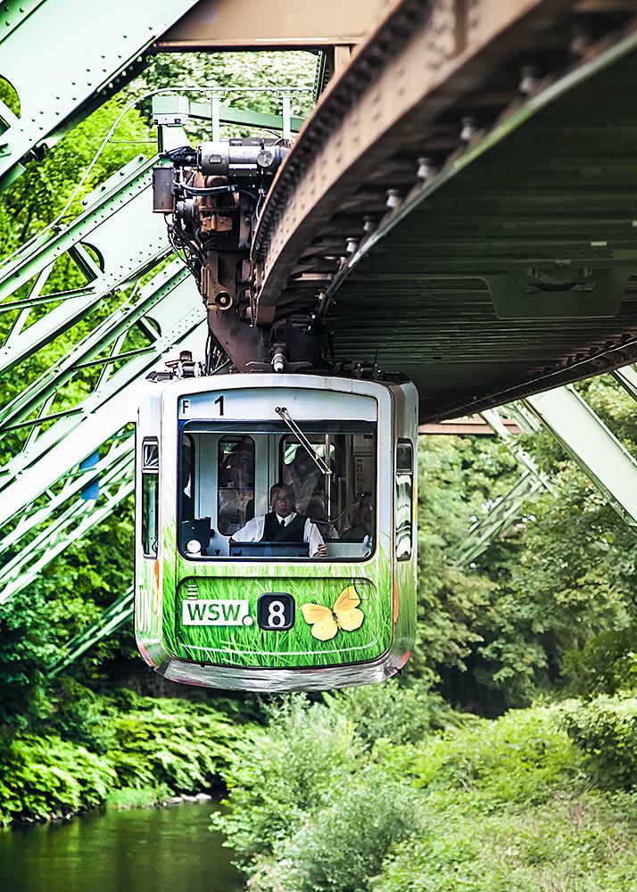 "Schwebebahn feels ""Green""."