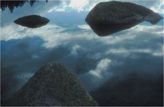 schwebende Steine