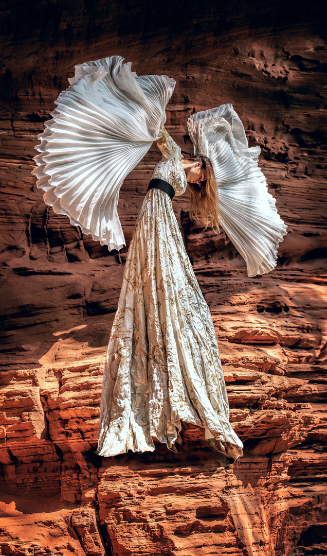Schwebender Engel