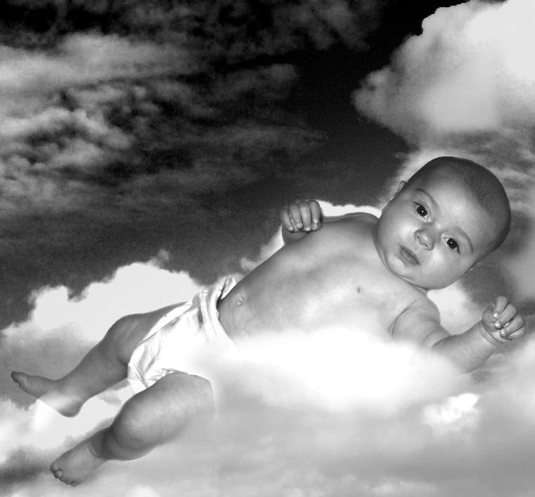 Schwebt in den Wolken