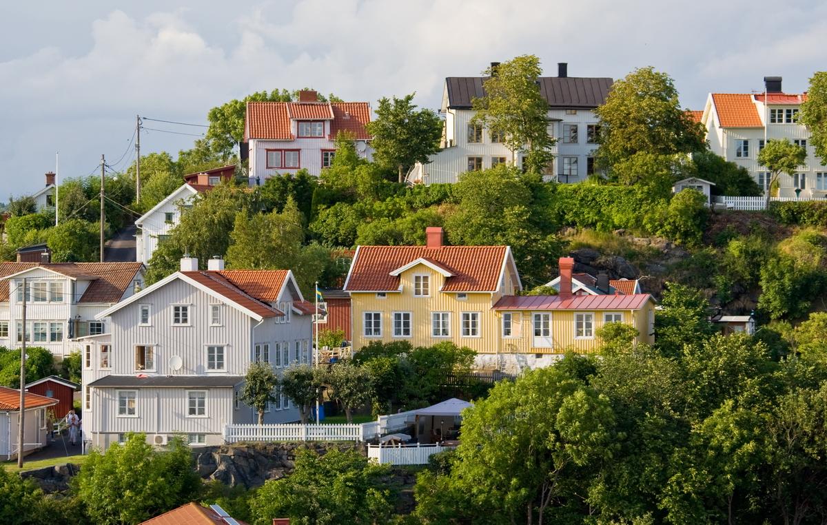 schwedenhäuser foto & bild | europe, scandinavia, sweden bilder auf