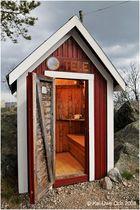 Schwedens netteste Telefonzelle