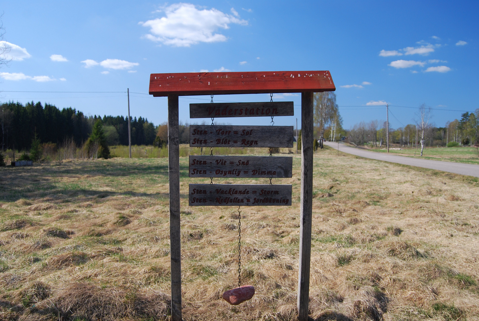schwedische Wetterstation