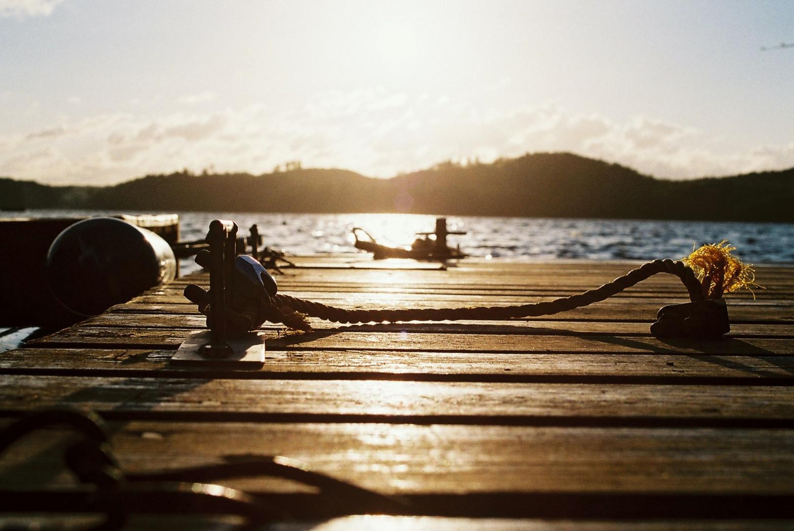 Schwedischer Sonnenuntergang