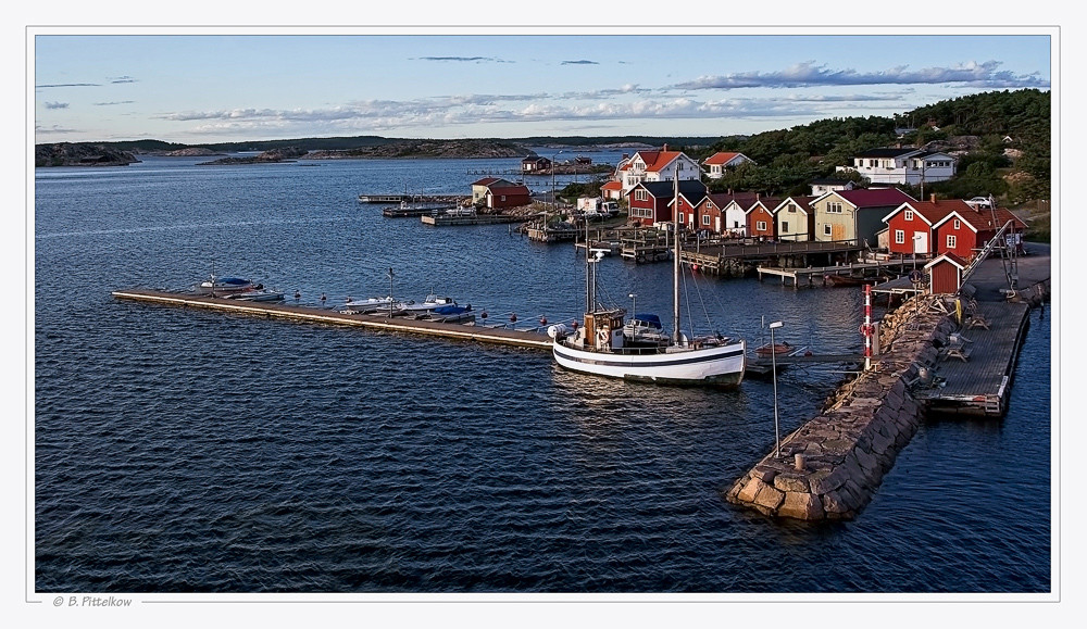 schwedisches Fischerörtchen