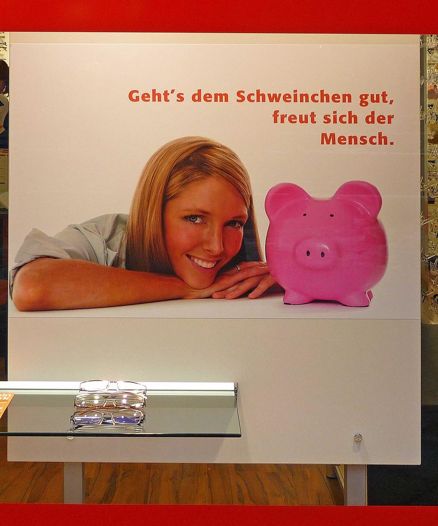 Schwein gehabt ?