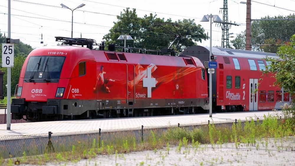 Schweiz-EM Taurus der ÖBB