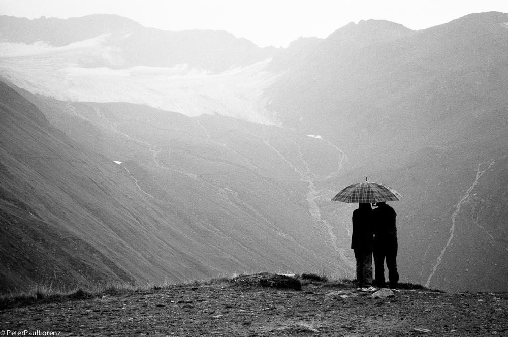 Schweiz Furkapass Gletscher