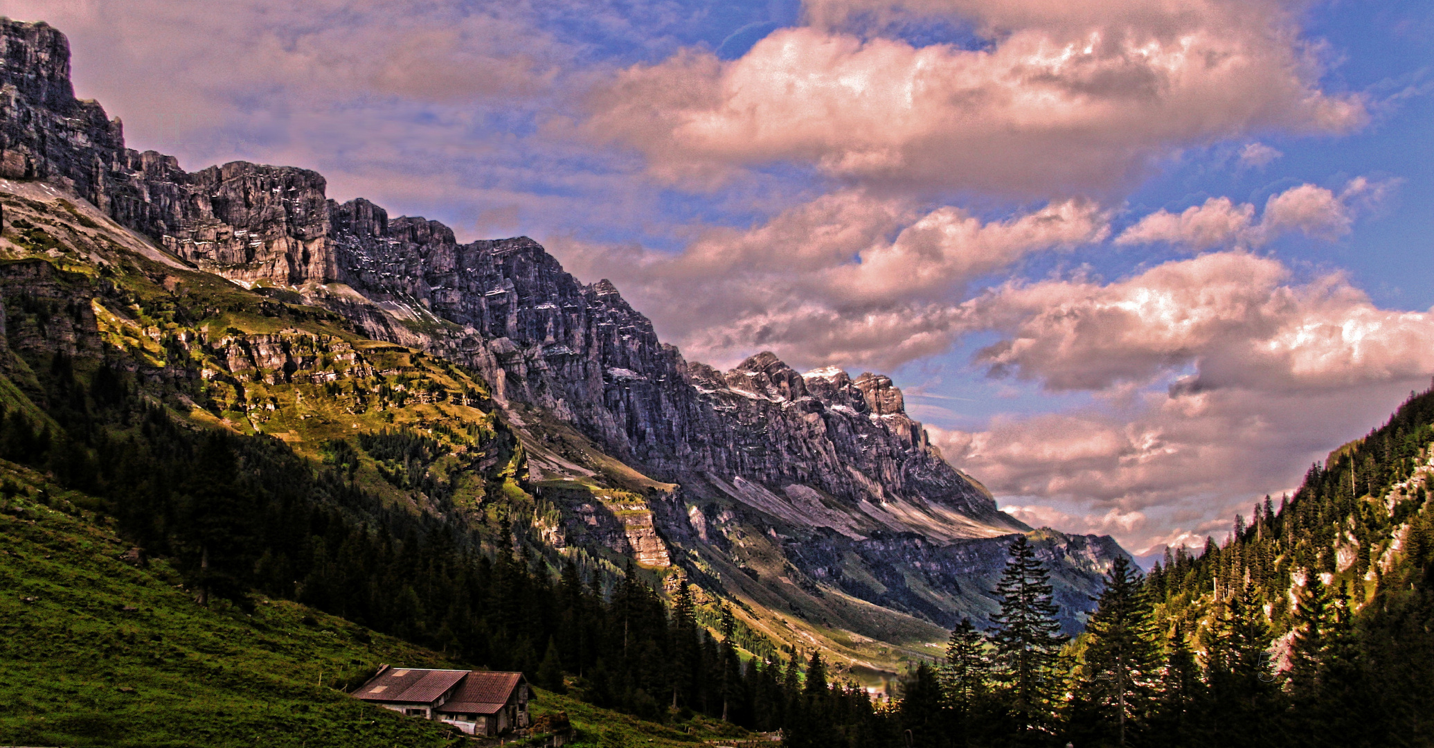 Schweiz Klausenpass HDR (erster versuch)