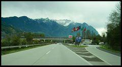 Schweizer Autobahn