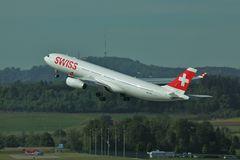 Schweizer Passagierjet