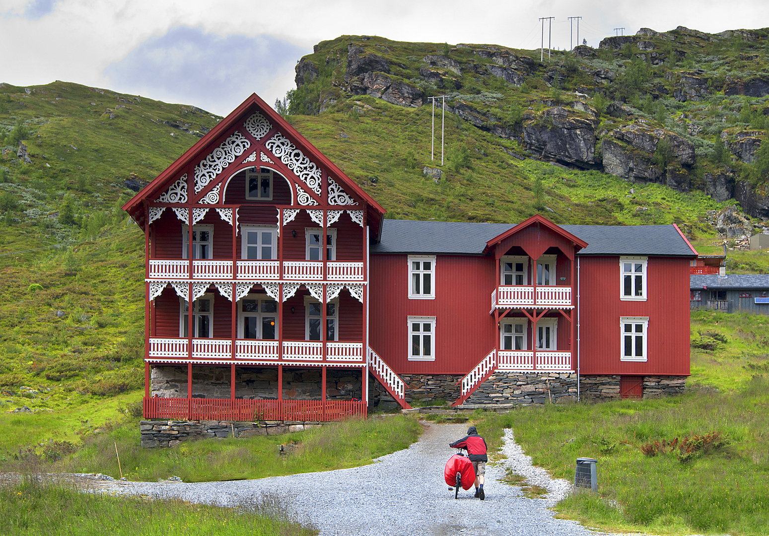 Schweizervilla Turtagro in Norwegen
